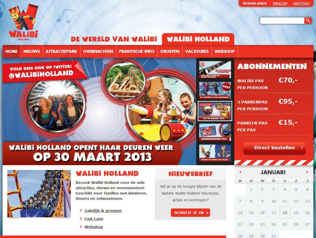 Klanten en projecten Zo! Online Marketing - Walibi