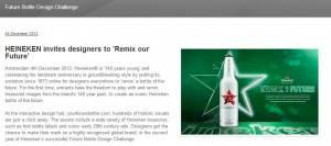 Co-creatie platform Heineken