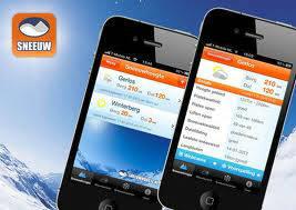 sneeuwhoogte.nl app