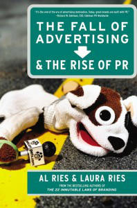 Fall of Adverting Rise of PR