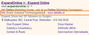 Google Adwords - review extensies