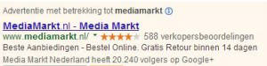 Google Adwords - seller ratings en social extensie