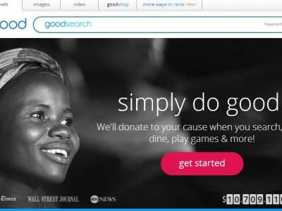 GoodSearch - zoekmachine voor het goede doel