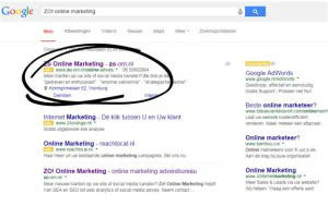 Betaalde-Google-Adwords-advertentie