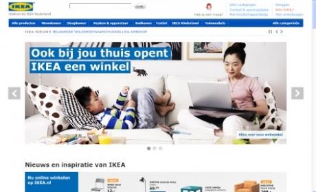 Lancering IKEA webshop juni 2013