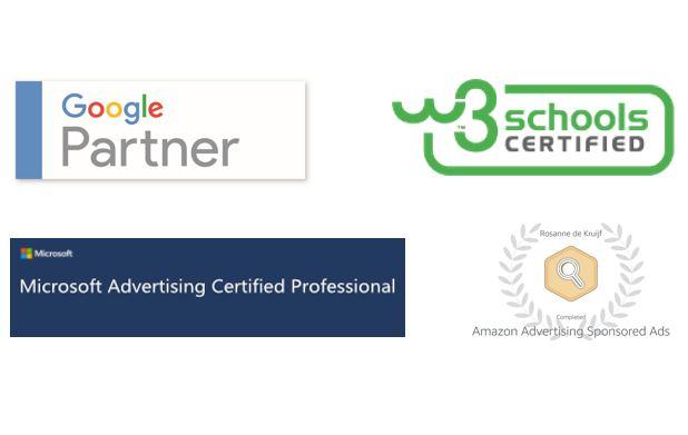 Accreditaties Zo Online Marketing