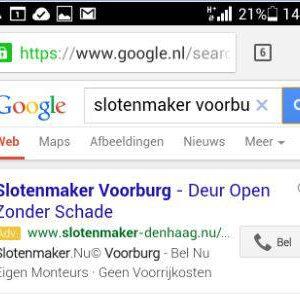 Google Adwords oproep extensie