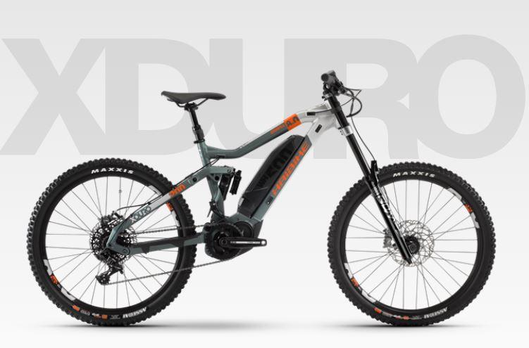 Haibike elektrische mountainbike Xduro 8.0