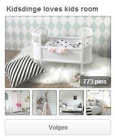 Kidsdinge - Kinderkamers Pinterest board